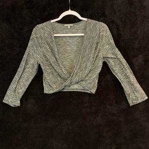 Charlotte Rousse Crop Long Sleeve Top